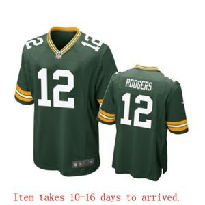 Mens Green Bay Packers Aaron Rodgers Jersey